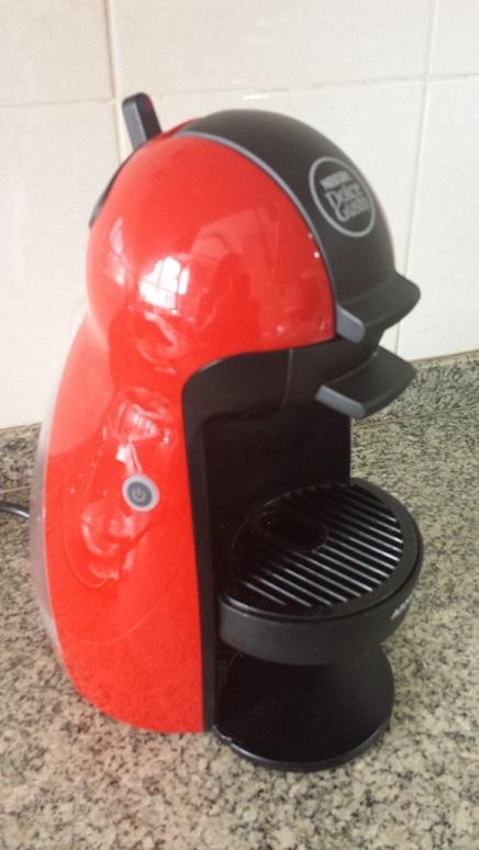 Minha máquina: Piccolo vermelha manual