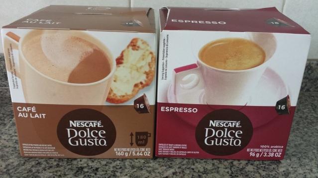 Meus favoritos: CAFÉ AU LAIT e ESPRESSO