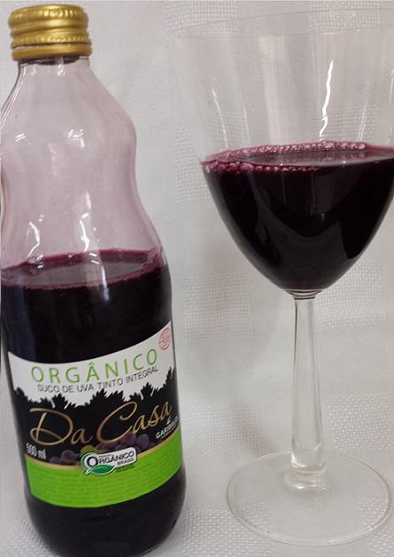 Meu preferido: Suco de Uva Integral Orgânico 'Da Casa'