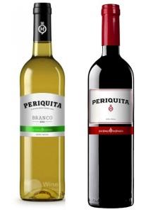 Vinho português Periquita Branco e Tinto - ótima opção para acompanhar bacalhau