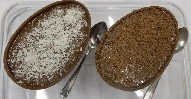 Ovos de Colher: Prestígio e Bolo de Cenoura