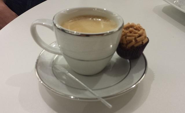Espresso e Brigadeiro de Caramelo