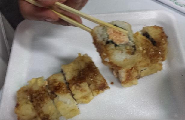 Hot Roll delicioso, frito sem óleo