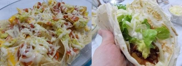 Receita Nachos e Tacos