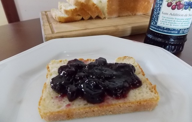 Pão sem gluten sem lactose