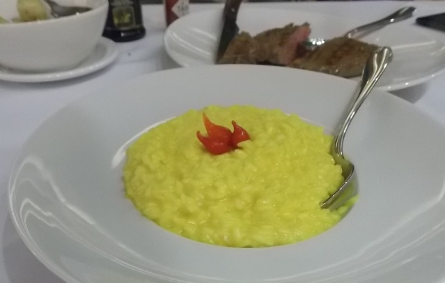 Risotto Milanês
