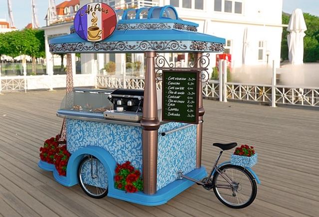 food bike café paris