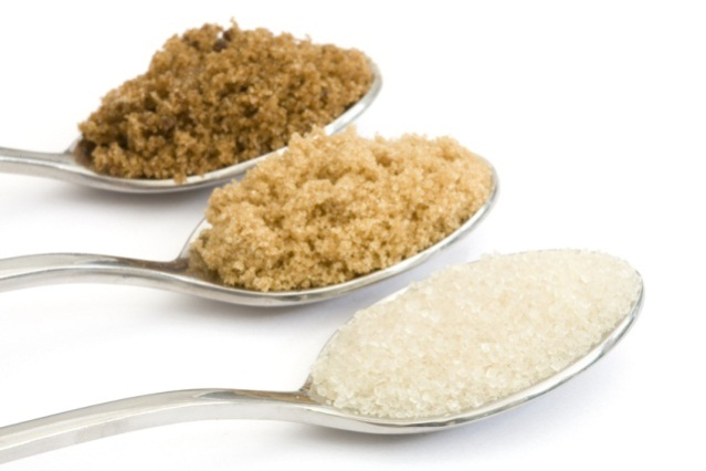 açúcar refinado demerara mascavo