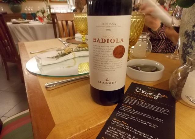 Carta de Vinhos por Grand Cru - Vinho italiano Radiola (ótimo custo/benefício)